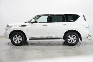 2013 Nissan Patrol Y62 TI-L White 7 Speed Sports Automatic Wagon.