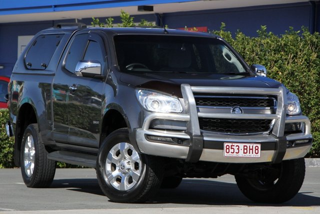 Used Holden Colorado RG MY14 LTZ Space Cab Aspley, 2014 Holden Colorado RG MY14 LTZ Space Cab Grey 6 Speed Sports Automatic Utility