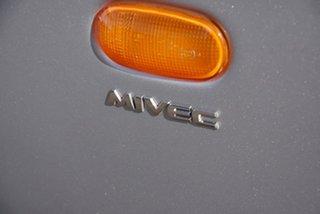 2008 Mitsubishi Colt RG MY08 ES Silver 1 Speed Constant Variable Hatchback