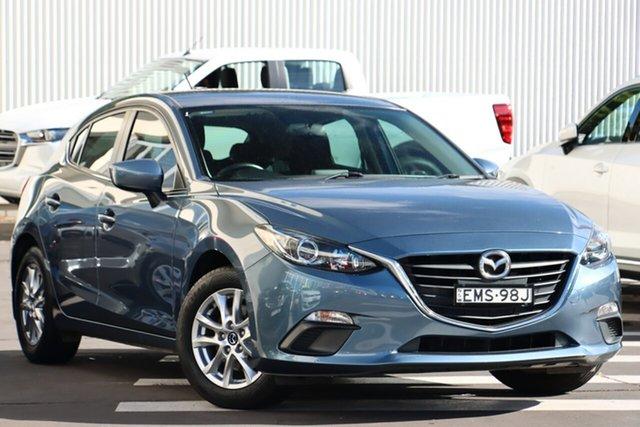 Used Mazda 3 BM5478 Maxx SKYACTIV-Drive Wollongong, 2014 Mazda 3 BM5478 Maxx SKYACTIV-Drive Blue Reflex 6 Speed Sports Automatic Hatchback