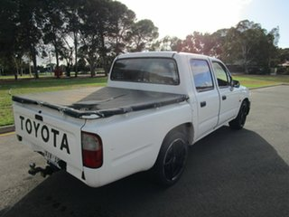 2004 Toyota Hilux RZN149R White 5 Speed Manual Dual Cab Pick-up