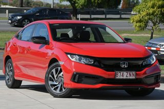 2019 Honda Civic 10th Gen MY19 50 Years Edition Red 1 Speed Constant Variable Sedan.