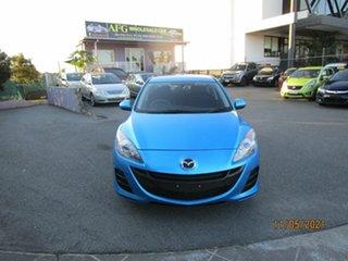 2009 Mazda 3 BK MY08 Neo Sport Blue 4 Speed Auto Activematic Sedan.