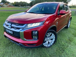 2019 Mitsubishi ASX XD MY20 LS 2WD Red 1 Speed Constant Variable Wagon.