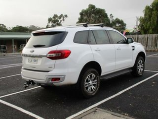 2017 Ford Everest UA Turbo Trend White Automatic SUV