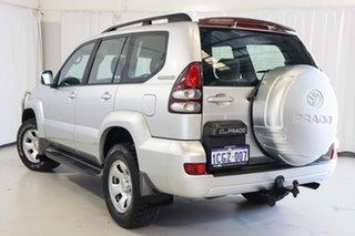 2005 Toyota Landcruiser Prado GRJ120R GXL Silver 6 Speed Manual Wagon.