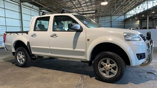 2013 Great Wall V200 K2 MY13 White 6 Speed Manual Utility.