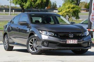2019 Honda Civic 10th Gen MY19 VTi-S Grey 1 Speed Constant Variable Sedan.