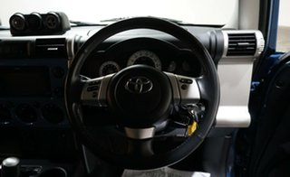 2013 Toyota FJ Cruiser GSJ15R Blue 5 Speed Automatic Wagon