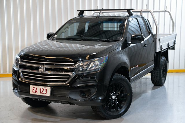 Used Holden Colorado RG MY17 LS Space Cab Hendra, 2017 Holden Colorado RG MY17 LS Space Cab Black 6 Speed Sports Automatic Cab Chassis