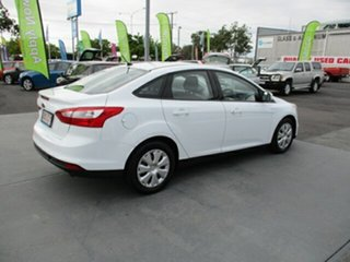 2012 Ford Focus Ambiente White 6 Speed Automatic Sedan.