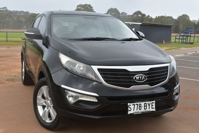 Used Kia Sportage SL SI St Marys, 2011 Kia Sportage SL SI Black 5 Speed Manual Wagon