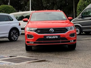 2021 Volkswagen T-ROC A1 MY21 140TSI DSG 4MOTION Sport Red 7 Speed Sports Automatic Dual Clutch.