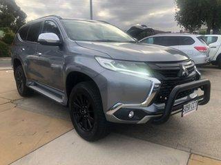 2019 Mitsubishi Pajero Sport QE MY19 Black Edition Grey 8 Speed Sports Automatic Wagon.