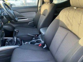 2015 Mitsubishi Triton MQ MY16 GLS Double Cab Sterling Silver 6 Speed Manual Utility
