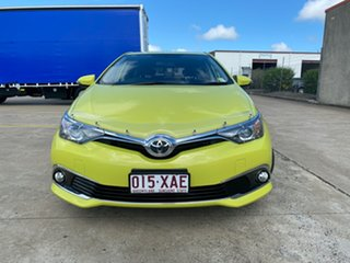 2016 Toyota Corolla ZRE182R Ascent Sport S-CVT Green 7 Speed Constant Variable Hatchback
