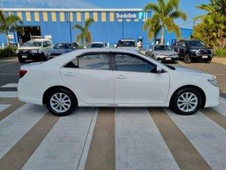 2014 Toyota Aurion GSV50R AT-X Diamond White 6 Speed Sports Automatic Sedan.