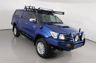 2013 Toyota Hilux KUN26R MY14 SR5 (4x4) Tidal Blue 5 Speed Manual Dual Cab Pick-up