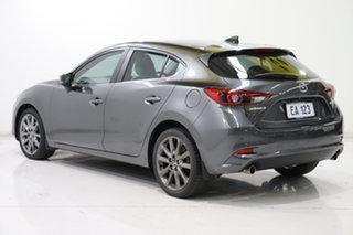 2018 Mazda 3 BN5438 SP25 SKYACTIV-Drive Grey 6 Speed Sports Automatic Hatchback