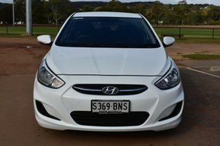 2016 Hyundai Accent RB4 MY16 Active White 6 Speed Constant Variable Hatchback