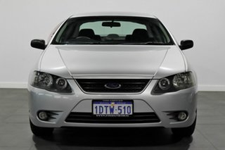 2006 Ford Falcon BF Mk II XT Silver 4 Speed Sports Automatic Sedan.