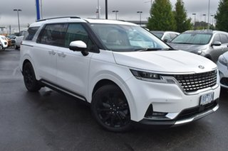 2020 Kia Carnival KA4 MY21 Platinum White 8 Speed Sports Automatic Wagon.