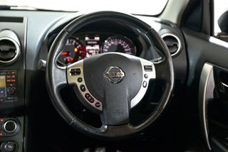 2013 Nissan Dualis J10W Series 3 MY12 Ti-L Hatch X-tronic 2WD Silver 6 Speed Constant Variable