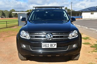 2013 Volkswagen Amarok 2H MY13 TDI400 4Mot Highline Black 6 Speed Manual Utility.