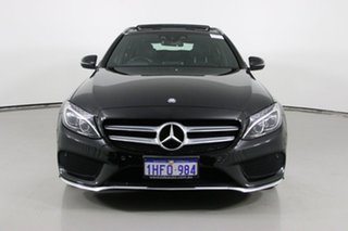 2015 Mercedes-Benz C200 205 MY16 Black 7 Speed Automatic Wagon.