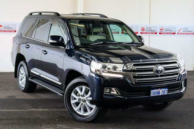 Pre-Owned Toyota Landcruiser VDJ200R Sahara Myaree, 2019 Toyota Landcruiser VDJ200R Sahara Onyx Blue 6 Speed Sports Automatic Wagon