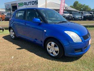 2010 Suzuki Swift RS415 Blue 5 Speed Manual Hatchback.