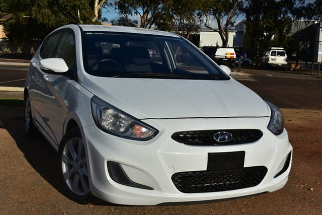 Used Hyundai Accent RB6 MY18 Sport St Marys, 2018 Hyundai Accent RB6 MY18 Sport White 6 Speed Sports Automatic Hatchback