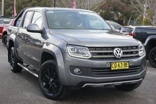 2016 Volkswagen Amarok 2H MY16 TDI420 4MOTION Perm Atacama Natural Grey 8 Speed Automatic Utility.