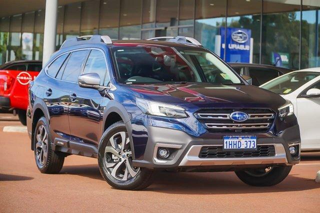 Demo Subaru Outback AWD Touring Gosnells, 2021 Subaru Outback 6GEN AWD Touring Blue Constant Variable SUV