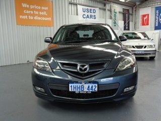 2008 Mazda 3 BK1032 MY08 SP23 Grey 5 Speed Sports Automatic Hatchback.