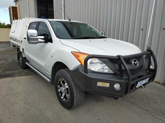 Used Mazda BT-50 UP0YF1 XT Horsham, 2013 Mazda BT-50 UP0YF1 XT 6 Speed Sports Automatic Utility