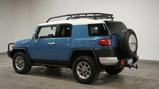 2013 Toyota FJ Cruiser GSJ15R Blue 5 Speed Automatic Wagon.