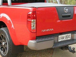 2014 Nissan Navara D40 S7 Titanium Red 6 Speed Manual Utility