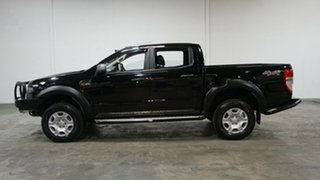 2018 Ford Ranger PX MkII 2018.00MY XLS Double Cab Black 6 Speed Sports Automatic Utility