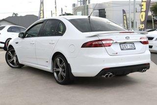 2016 Ford Falcon FG X XR8 Winter White 6 Speed Sports Automatic Sedan.