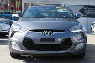 2015 Hyundai Veloster FS4 Series II + Coupe D-CT Silver 6 Speed Sports Automatic Dual Clutch
