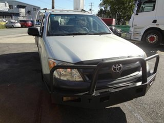 2005 Toyota Hilux TGN16R Workmate Silver 5 Speed Manual Cab Chassis