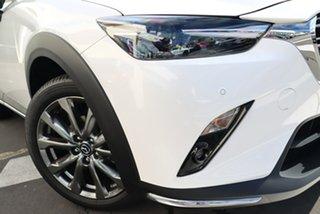 2020 Mazda CX-3 DK2W7A Akari SKYACTIV-Drive FWD LE Snowflake White Pearl 6 Speed Sports Automatic.