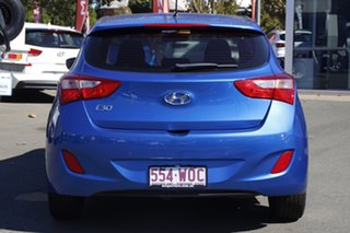 2015 Hyundai i30 GD4 Series II MY16 Active Blue 6 Speed Sports Automatic Hatchback