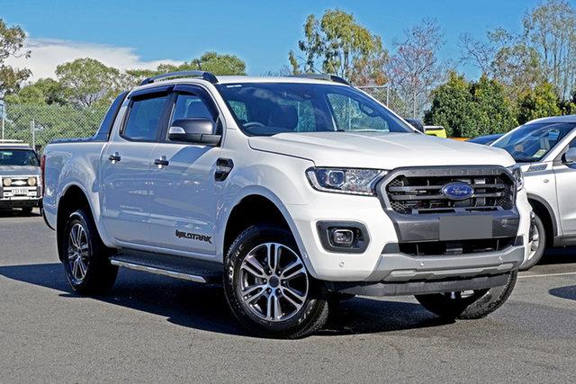 Used Ford Ranger PX MkIII 2020.25MY Wildtrak Ebbw Vale, 2020 Ford Ranger PX MkIII 2020.25MY Wildtrak Arctic White 6 Speed Sports Automatic
