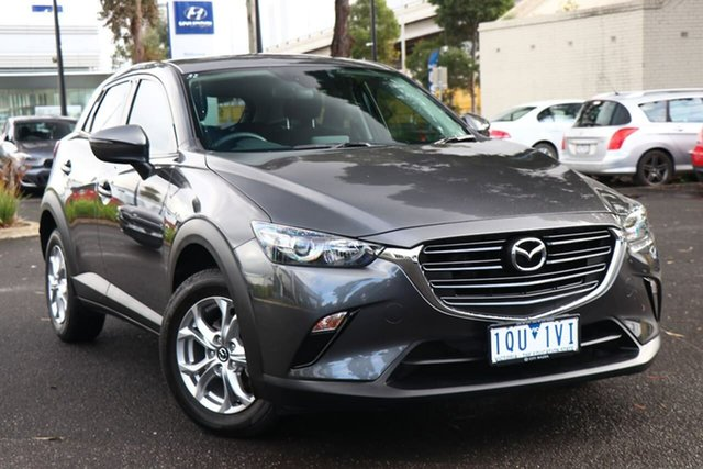 Used Mazda CX-3 DK2W76 Maxx SKYACTIV-MT FWD Sport South Melbourne, 2019 Mazda CX-3 DK2W76 Maxx SKYACTIV-MT FWD Sport Machine Grey 6 Speed Manual Wagon
