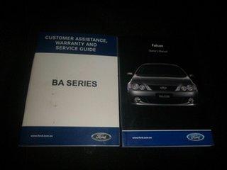 2004 Ford Falcon BA Mk II XR6 Red 5 Speed Manual Sedan.