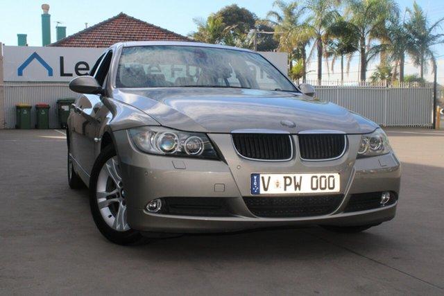 Used BMW 320d E90 08 Upgrade West Footscray, 2008 BMW 320d E90 08 Upgrade 6 Speed Auto Steptronic Sedan