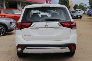 2021 Mitsubishi Outlander ZL MY21 ES 7 Seat (AWD) White 6 Speed CVT Auto Sequential Wagon.