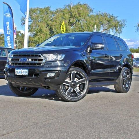 Used Ford Everest UA Trend Midland, 2017 Ford Everest UA Trend Black 6 Speed Sports Automatic SUV